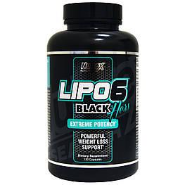 Жироспалювач Lipo6 Black Hers Extreme Potency Nutrex 120 капсул