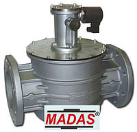 Электромагнитный клапан нормально открытый фланцевый Madas DN 100 500 mbar