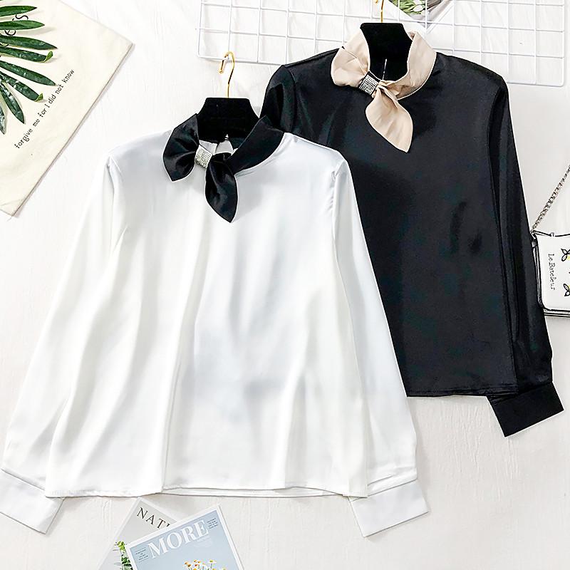 Шикарна шовкова блуза Китай (в кольорах)