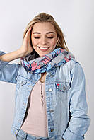 Простой и стильный шарф-хомут