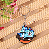 Брелок Пиратский корабль подвеска, игрушка - стильный аксессуар