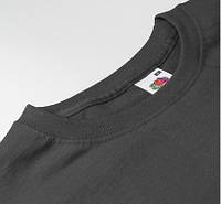 Темно серые мужские футболкиFruit of the Loom