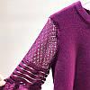 Трикотажный пуловер с объемными рукавами 42-46, фото 7