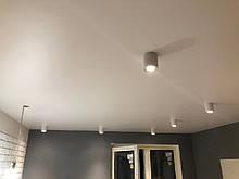 Глянцевый, матовый натяжной потолок. Натяжной потолок с фото печатью.