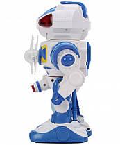 Робот 8808 на батар, свет, звук, 3 вида Синий