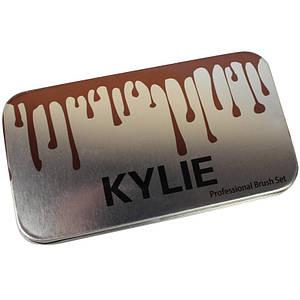 Набор кисточек для макияжа в стиле Kylie Professional Brush Set маленькие 7 штук 132325