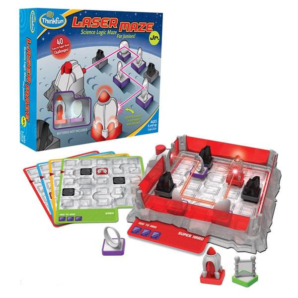 Игра-головоломка Лазерный лабиринт Джуниор | ThinkFun Laser-Maze-Jr 76348 Игра-головоломка Лазерный лабиринт Джуниор | ThinkFun Laser-Maze-Jr 76348