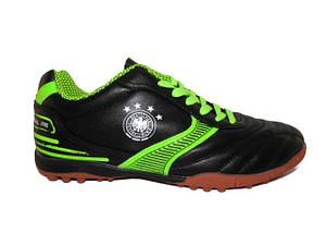 Бампы Demax A -8010-1 S чорний/ зелений