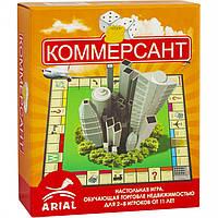 Настольная игра Arial Коммерсант 911036 Настольная игра Arial Коммерсант 911036