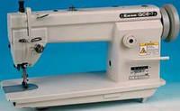 Одноигольная швейная машина челночного стежка с унисонной подачей и увеличенным челноком TYPICAL  GC6-7