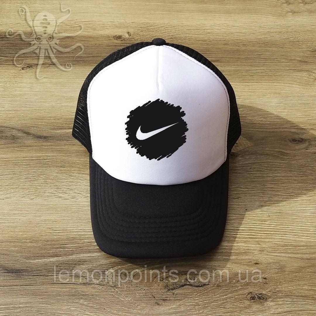 Кепка мужская спортивная Nike K163 белая