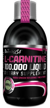 Жироспалювач BioTech USA L-Carnitine Liquid 100,000 mg  500 ml, фото 2