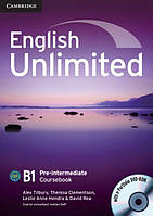 English Unlimited Pre-Intermediate Coursebook with e-Portfolio DVD-ROM