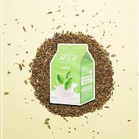Успокаивающая маска A'pieu Green Tea Milk One-Pack
