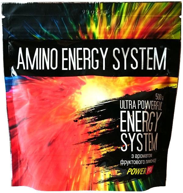Передтренувальний комплекс Amino Energy System Power Pro 500 г