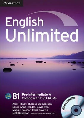English Unlimited Pre-Intermediate A Combo with DVD-ROM