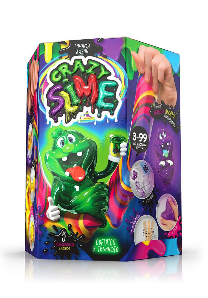 """Безопасный образовательный набор для проведения опытов """"Crazy Slime"""" SLM-01 Безопасный образовательный набор для проведения опытов """"Crazy Slime"""""""