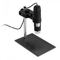 USB Микроскоп. 1000 кратное увеличение, 8LED, металлическая подставка.