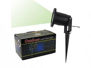 Проектор лазерный уличный Outdoor Lawn Laser Light с пультом 133180