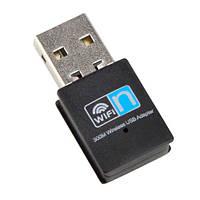 USB Wi-Fi сетевой адаптер 300Мб 802.11n RTL8192EU. микро (z01869)