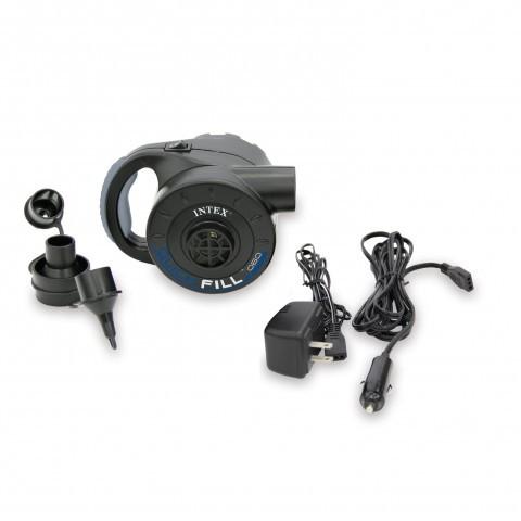 Мощный электрический насос со встроенным аккумулятором 12/220V Intex 66622