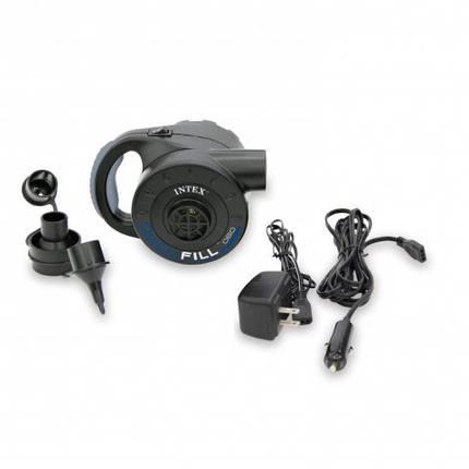 Мощный электрический насос со встроенным аккумулятором 12/220V Intex 66622, фото 2