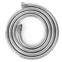 Шланг душевой пластиковый в металлической оплетке 200 см Bathlux 20190
