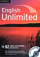 English Unlimited Upper-Intermediate Coursebook with e-Portfolio DVD-ROM