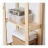 Стеллаж икеа ALBERT, хвойное дерево сосна, IKEA, 001.119.94, фото 4