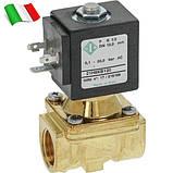 Электромагнитный клапан для воды 21H8KB120 (ODE, Italy), G1/2, фото 3