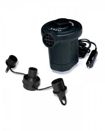 Мощный электрический насос 12 V Intex 66626., фото 2