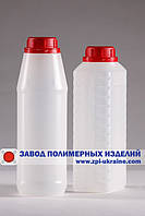 Пластиковые бутылки круглые R-01 , емкостью 1 литр