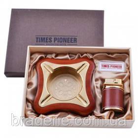 Подарунковий набір Pioneer 3619 запальничка та попільничка