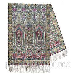 Царський 1159-54, павлопосадский шарф-палантин вовняної з шовковою бахромою