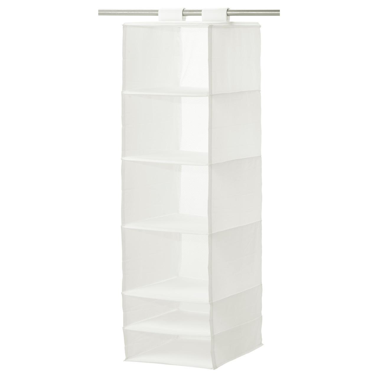Модуль для хранения на 6 отсеков SKUBB, белая, IKEA, 002.458.80