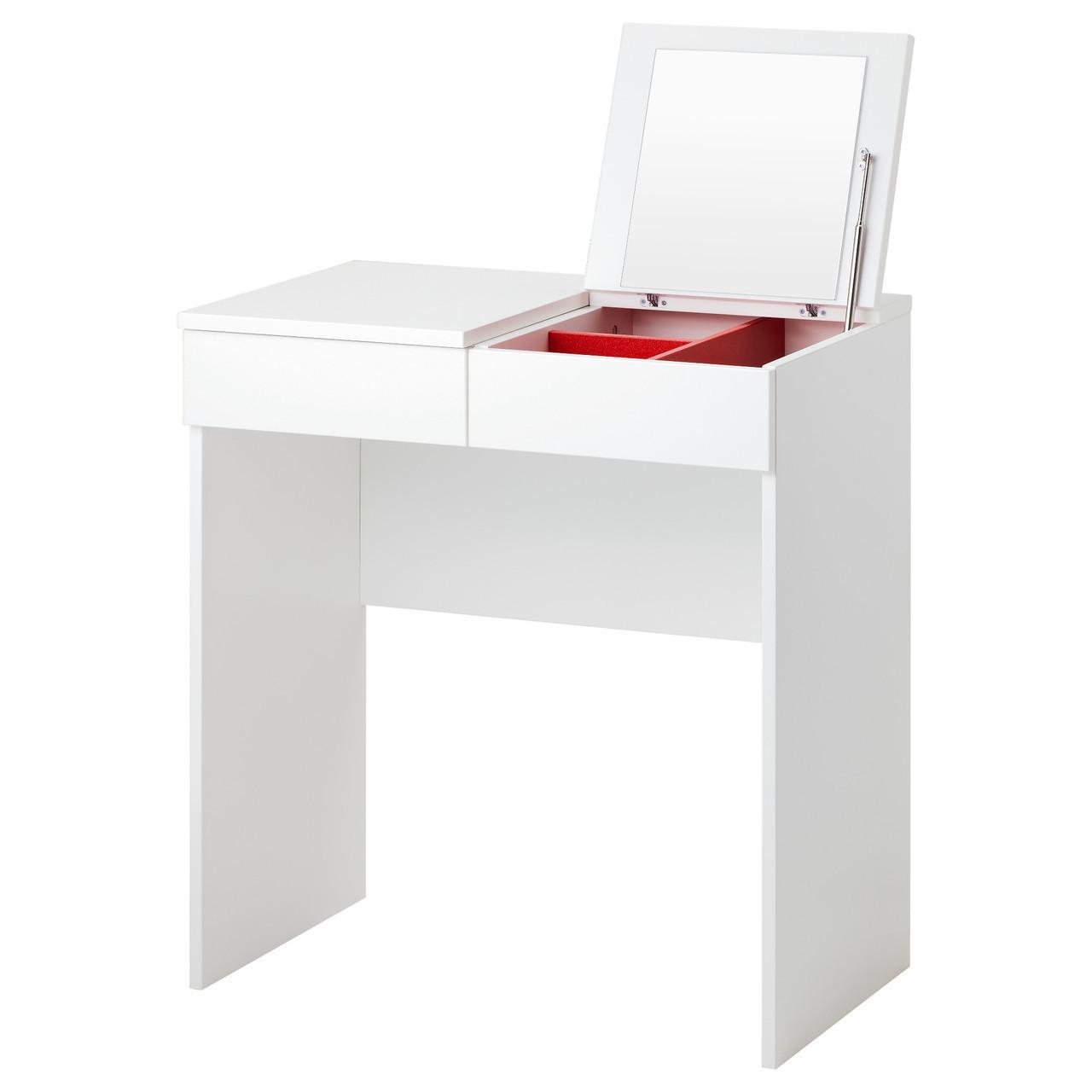 Туалетный столик икеа BRIMNES, белый, IKEA, 702.904.59