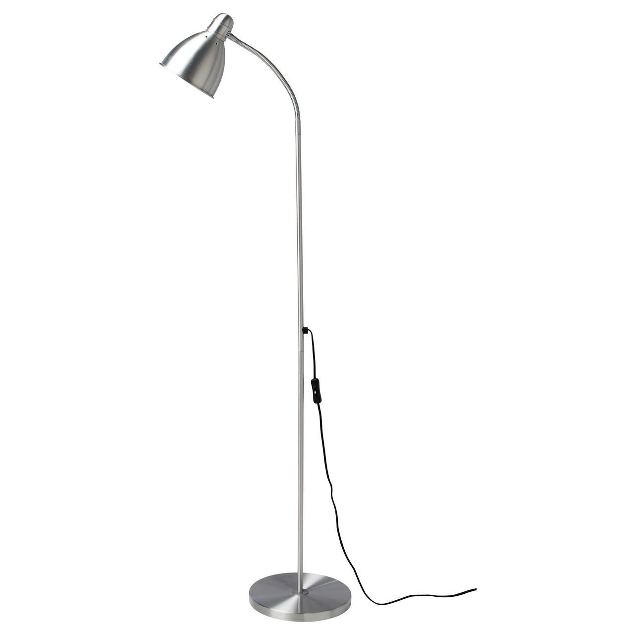Светильник напольный для чтения LERSTA, алюминий, IKEA, 001.106.40
