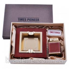Подарунковий набір Pioneer 3623 Запальничка Попільничка