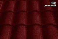 Композитная черепица Метророман(красный)