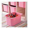 Комбинация для хранения игрушек TROFAST, белый, розовый, IKEA, 898.575.41, фото 3