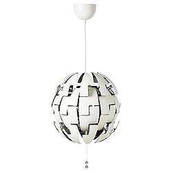 Подвесной светильник IKEA PS 2014, белый, серебристый, IKEA, 903.114.94