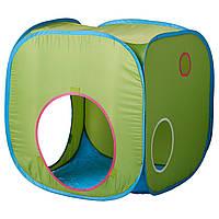 Палатка икеа детская игровая BUSA, зелёная, IKEA, 102.435.74