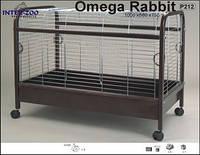 Клетка для кролика на колесиках OMEGA KRÓLIK 100x56x75см