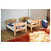 Кровать для куклы / набор постельного белья IKEA DUKTIG сосна разноцветный 400.863.51, фото 2