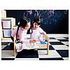 Кровать для куклы / набор постельного белья IKEA DUKTIG сосна разноцветный 400.863.51, фото 3