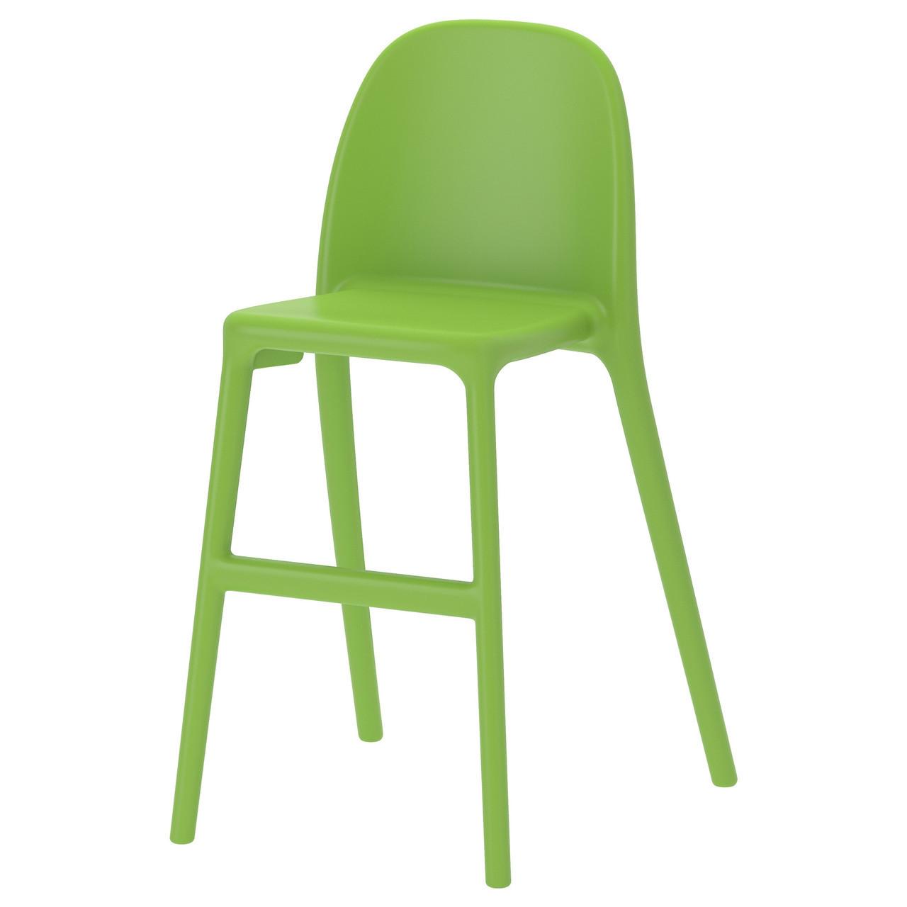Детский стул URBAN, зеленый, IKEA, 502.070.36
