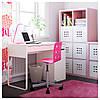 Письменный стол MICKE, белый, IKEA, 802.130.74, фото 8