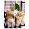 Набор шкатулок для хранени LJUSNAN,3 штуки, водоросли, IKEA, 604.136.20, фото 2