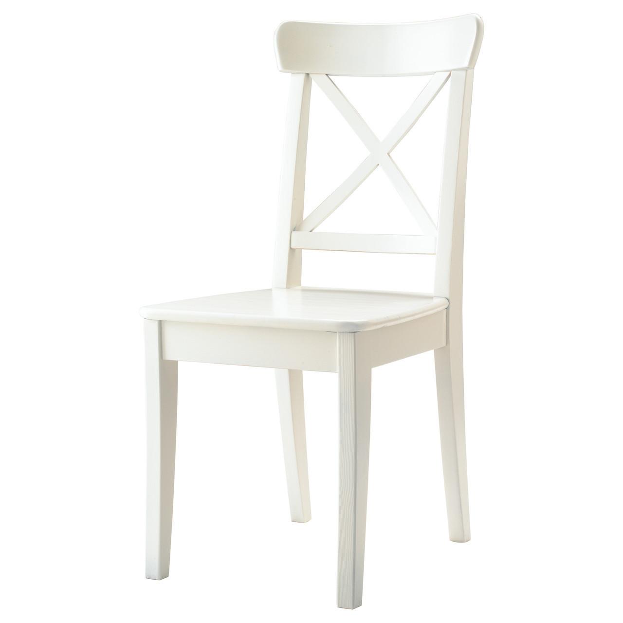 Стул ikea INGOLF, белый, IKEA, 701.032.50