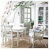 Стул ikea INGOLF, белый, IKEA, 701.032.50, фото 3